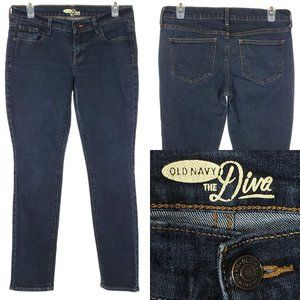 OLD NAVY Skinny Jeans The Diva Dark Wash Stretch